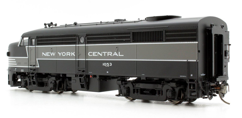 Alco/MLW FA-2 Locomotive - NYC Lightning Stripe Scheme #1053 - DC/DCC/Sound