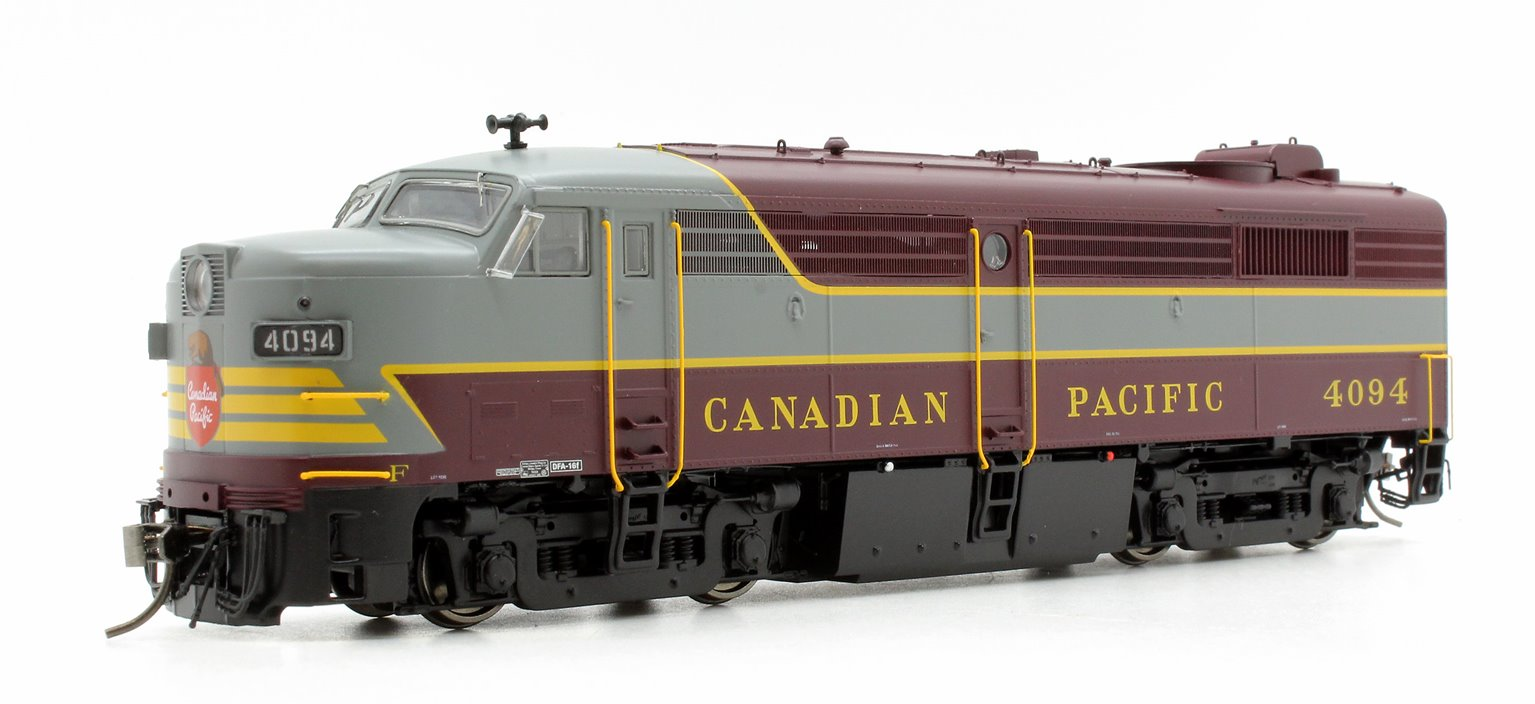 Alco/MLW FPA-2 Locomotive - CPR Block Scheme #4094 - DC/DCC/Sound