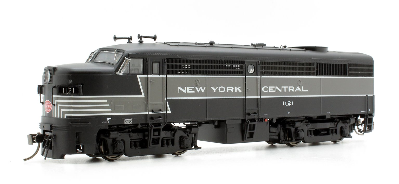 Alco/MLW FA-2 Locomotive - NYC Lightning Stripe Scheme #1121 - DC/DCC/Sound