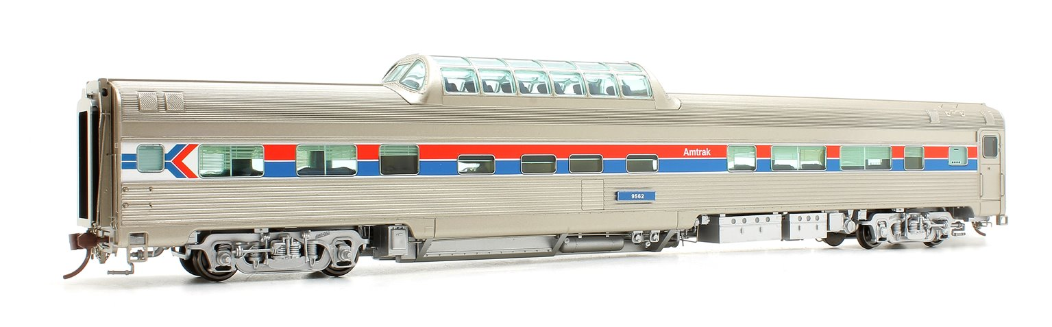 Budd Mid-Train Dome Car - Amtrak Phase 1 #9562 - Voiture Skyline
