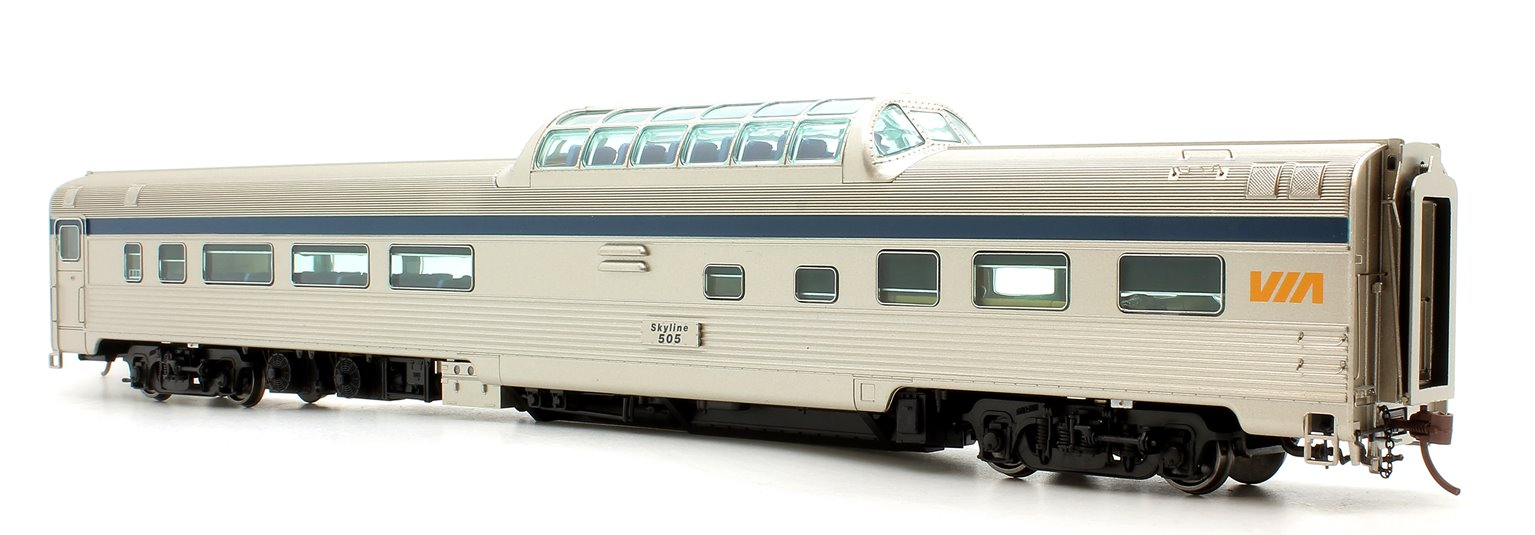 Budd Mid-Train Dome Car - VIA Rail Canada #505 - Voiture Skyline