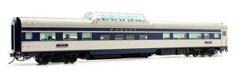 Budd Mid-Train Dome Car - Wabash #200 - Voiture Skyline