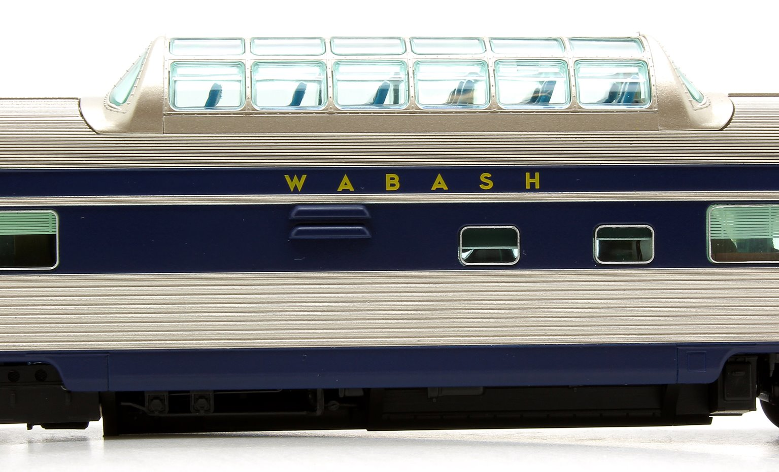 Budd Mid-Train Dome Car - Wabash #200 - Voiture Skyline