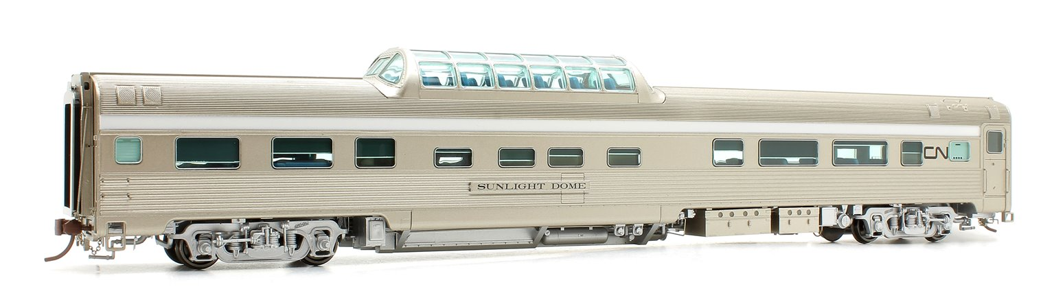 Budd Mid-Train Dome Car - Canadian National 'Starlight Dome' - Voiture Skyline