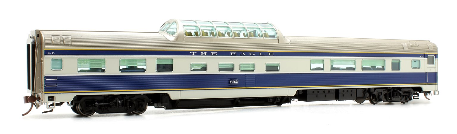 Budd Mid-Train Dome Car - MOPAC EAGLE #892 - Voiture Skyline