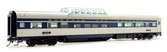 Budd Mid-Train Dome Car - Norfolk & Western #1612 - Voiture Skyline
