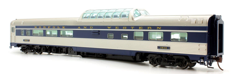 Budd Mid-Train Dome Car - Norfolk & Western #1612 - Voiture Skyline