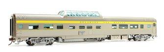 Budd Mid-Train Dome Car - Delaware & Hudson Willboro Point #35 - Voiture Skyline
