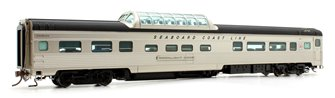 Budd Mid-Train Dome Car - Seaboard Coast Line Moonlight Dome - Voiture Skyline