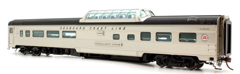 Budd Mid-Train Dome Car - Seaboard Coast Line Moonlight Dome - Voiture Skyline