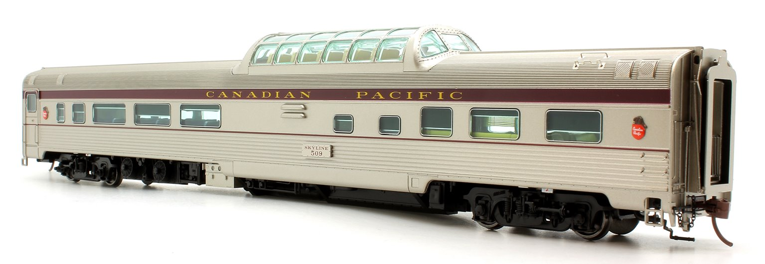 Budd Mid-Train Dome Car - Canadian Pacific Block #509 - Voiture Skyline