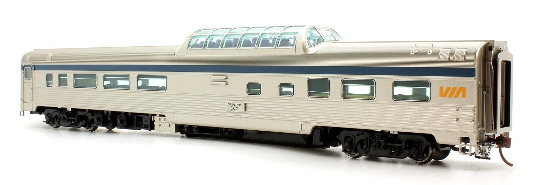 Budd Mid-Train Dome Car - VIA Rail Canada #501 - Voiture Skyline