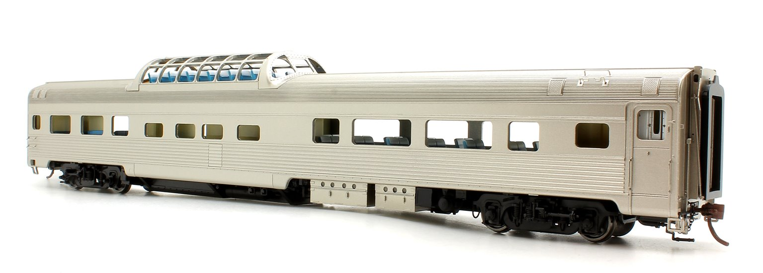 Budd Mid-Train Dome Car - Unlettered - Voiture Skyline