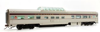 Budd Mid-Train Dome Car - Canadian Pacific Block #517 - Voiture Skyline