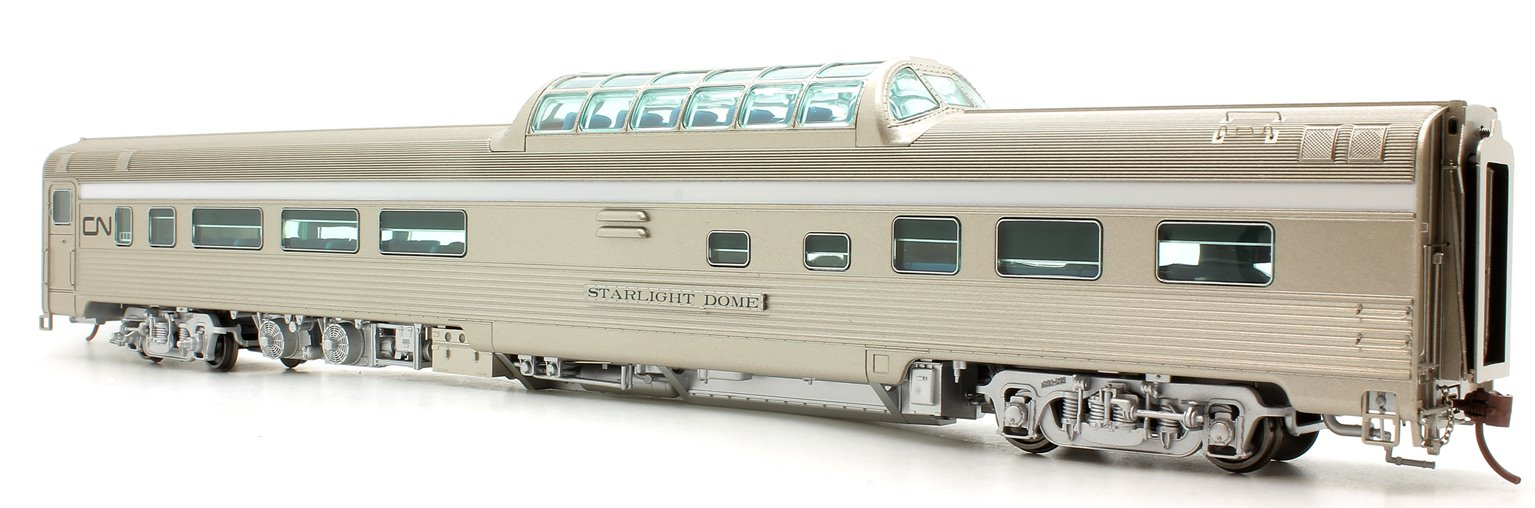 Budd Mid-Train Dome Car - Canadian National Starlight Dome - Voiture Skyline