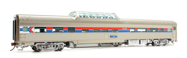 Budd Mid-Train Dome Car - Amtrak Phase 1 #9560 - Voiture Skyline