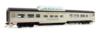 Budd Mid-Train Dome Car - Seaboard Coast Line Starlight Dome - Voiture Skyline
