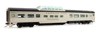 Budd Mid-Train Dome Car - Seaboard Coast Line Starlight Dome - Voiture Skyline