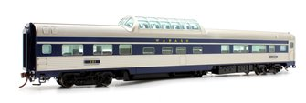 Budd Mid-Train Dome Car - Wabash #201 - Voiture Skyline