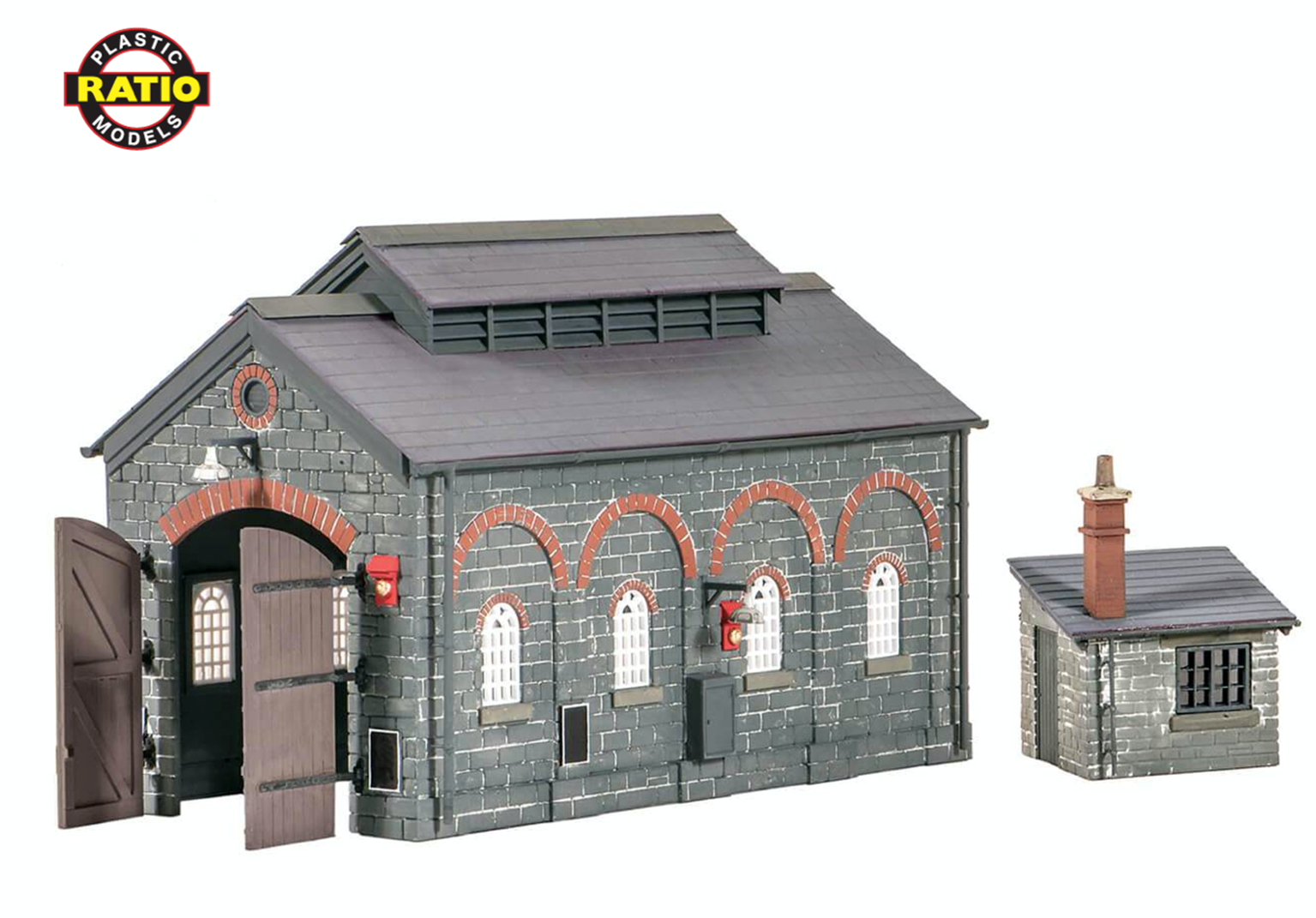 Engine Shed and Hut