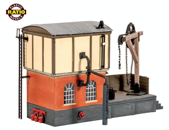 Locomotive Servicing Depot Kit