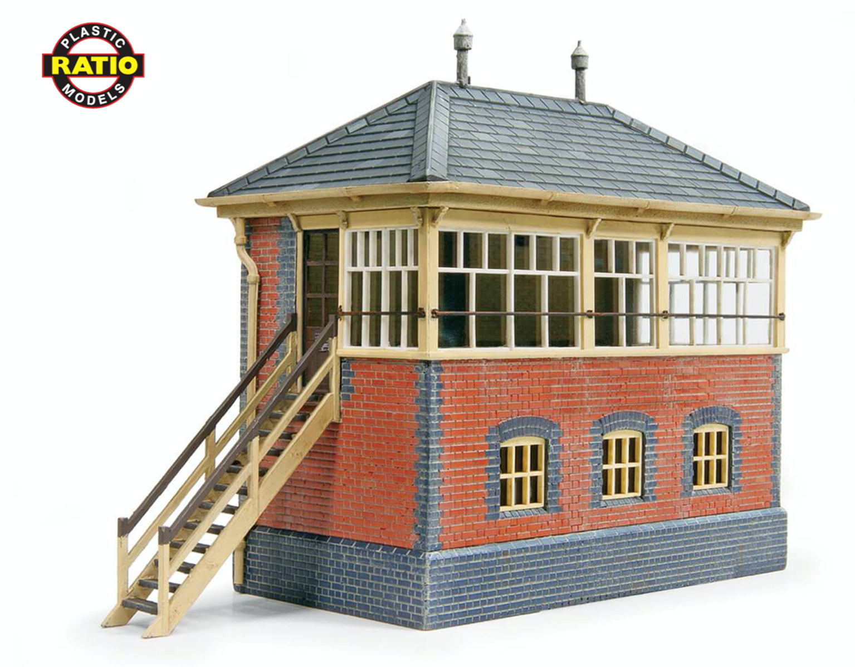 GWR Brick Signal Box