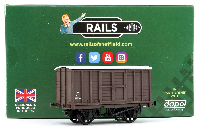 SR (ex-SE&CR) Diagram 1424 Box Van No. 45374, Southern Railway brown, 1936 livery