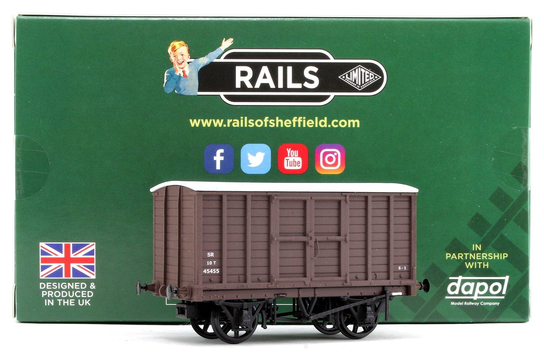 SR (ex-SE&CR) Diagram 1424 Box Van No. 45455, Southern Railway brown, 1936 livery