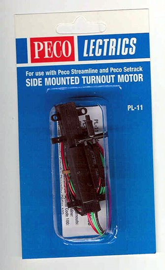 PL11 Side Mounted Turnout Motor