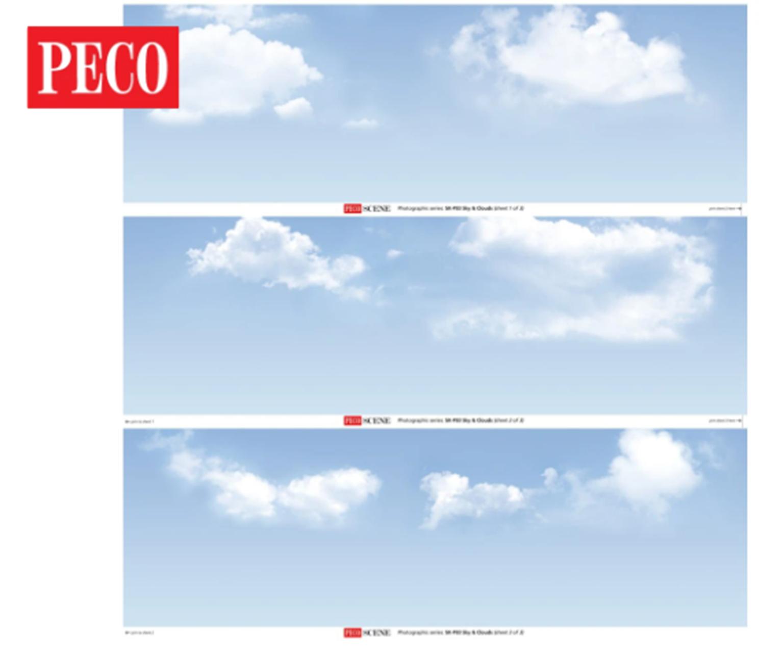 Sky & Clouds Photographic Backscene