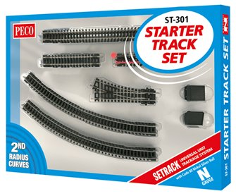 Starter Track Set 2nd Radius Curves