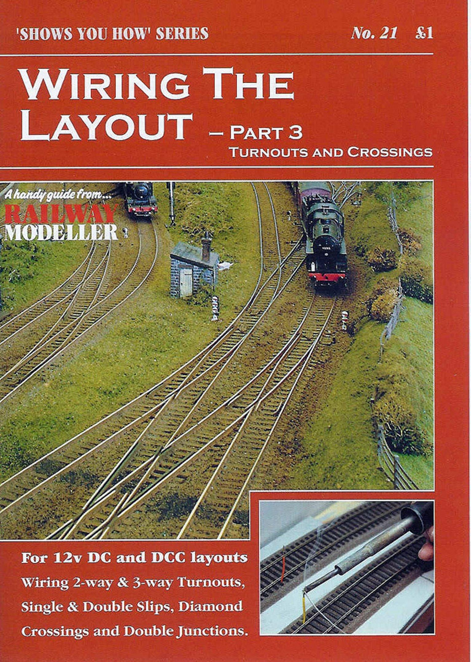 """Shows You How"" Series - Wiring the Layout Part 3: Turnouts and Crossings"