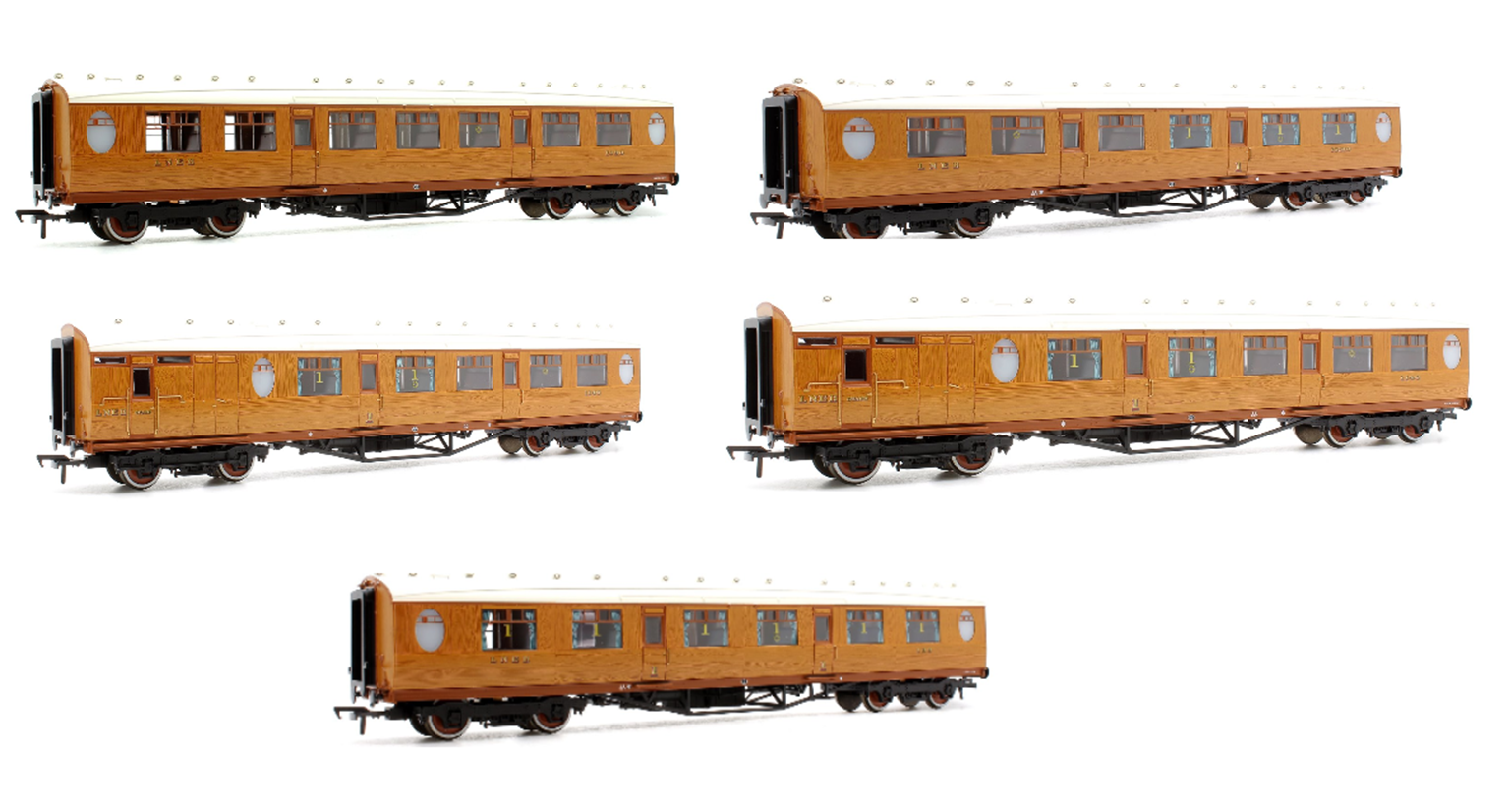 Bachmann OO Gauge LNER Thompson Bundle
