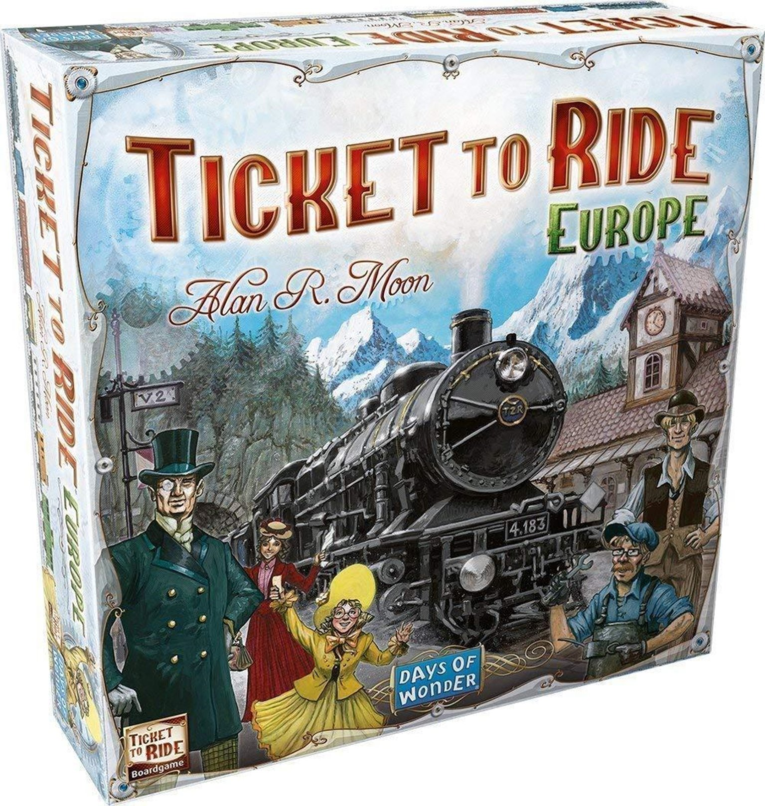 Ticket to Ride (Europe Edition) Board Game