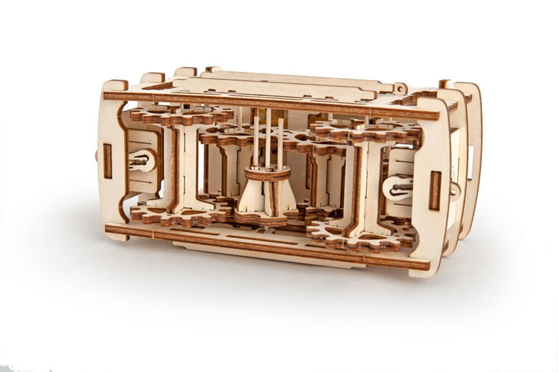 Mechanical model Tram with rails