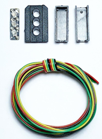 Signal Heads Kit 3 Aspect Home Distant (R/Y/G)