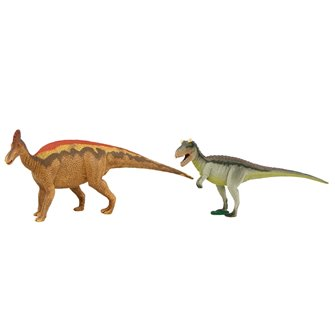 Natural History Museum Carnotaurus & Corythosaurus