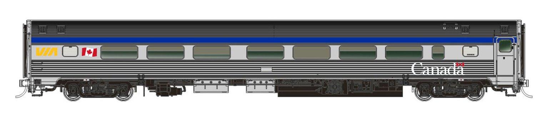 N Scale The Canadian Add-On Coach, Manor, Chateau: VIA Rail Canada (HEP/Canada Scheme)