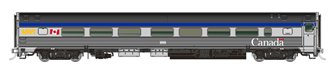 N Scale The Canadian Add-On Coach, Manor, Chateau: VIA Rail Canada (HEP/Canada Scheme)