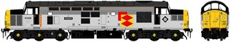 "Class 37/0 37026 ""Shapfell"" Railfreight Distribution Diesel Locomotive DCC Sound"