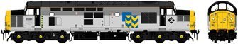 Class 37/0 37051 Railfreight Metals Triple Grey Diesel Locomotive
