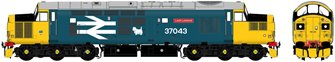 "Class 37/0 37043 ""Loch Lomond"" BR Large Logo Blue Diesel Locomotive"