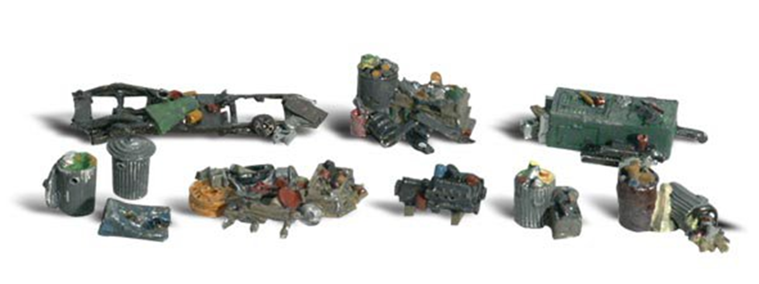 Scenic Accents - Assorted Junk - HO Scale