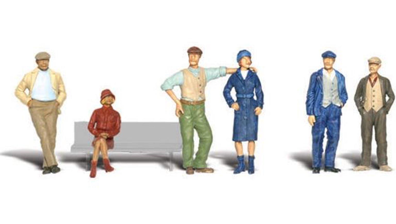 Woodland Scenics WA2156 N Gauge Figures - Bystanders