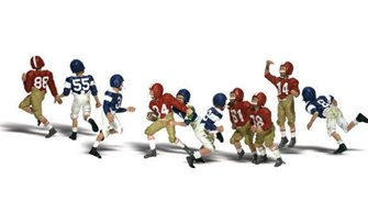 Woodland Scenics WA2169 N Gauge Figures - Youth Football Players