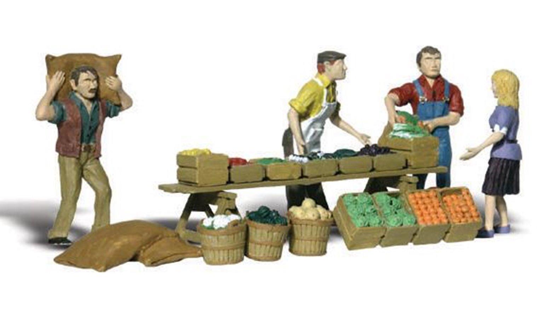 Woodland Scenics WA2170 N Gauge Figures - Farmers Market