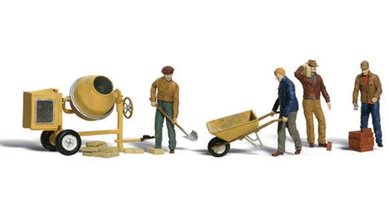 Woodland Scenics WA2173 n Gauge Figures - Masonry Workers