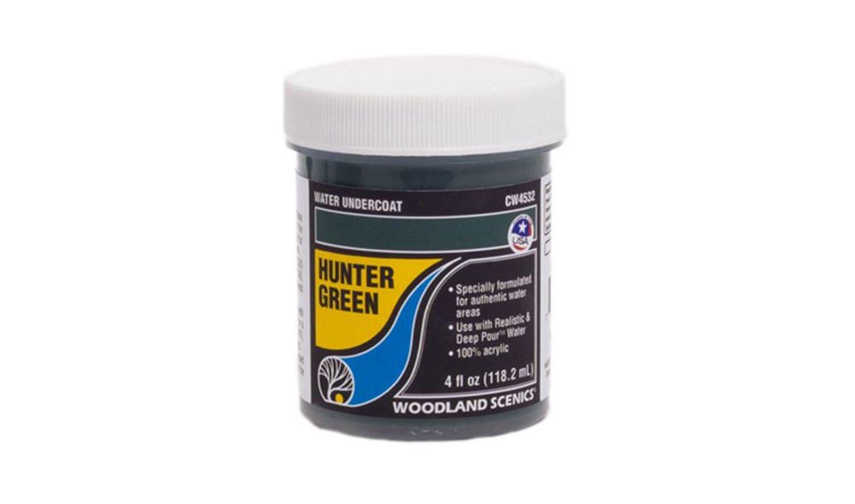 Hunter Green Water Undercoat