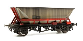 Custom Weathered MGR HAA Coal Wagon (Red Cradle) #350274