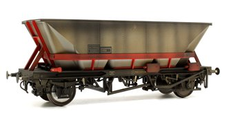 Custom Weathered MGR HAA Coal Wagon (Red Cradle) #353823
